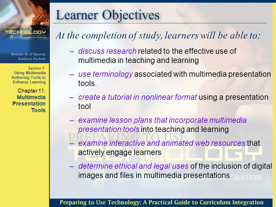 Learner Objectives At the completion of study, learners will be able to:
