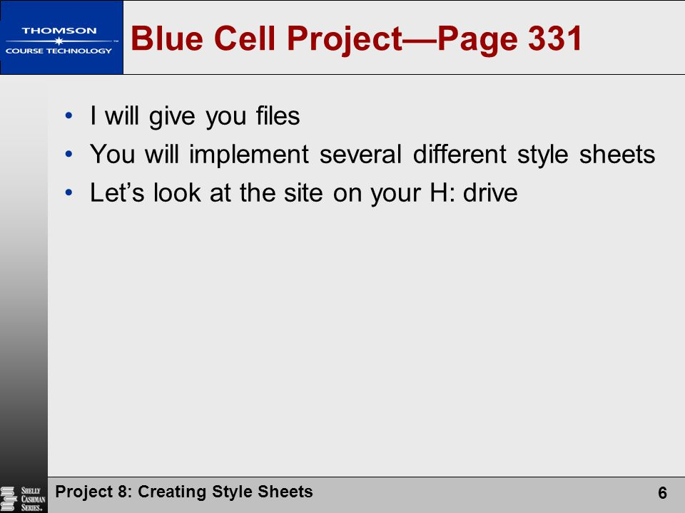 Blue Cell Project—Page 331