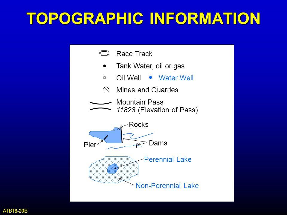 TOPOGRAPHIC INFORMATION