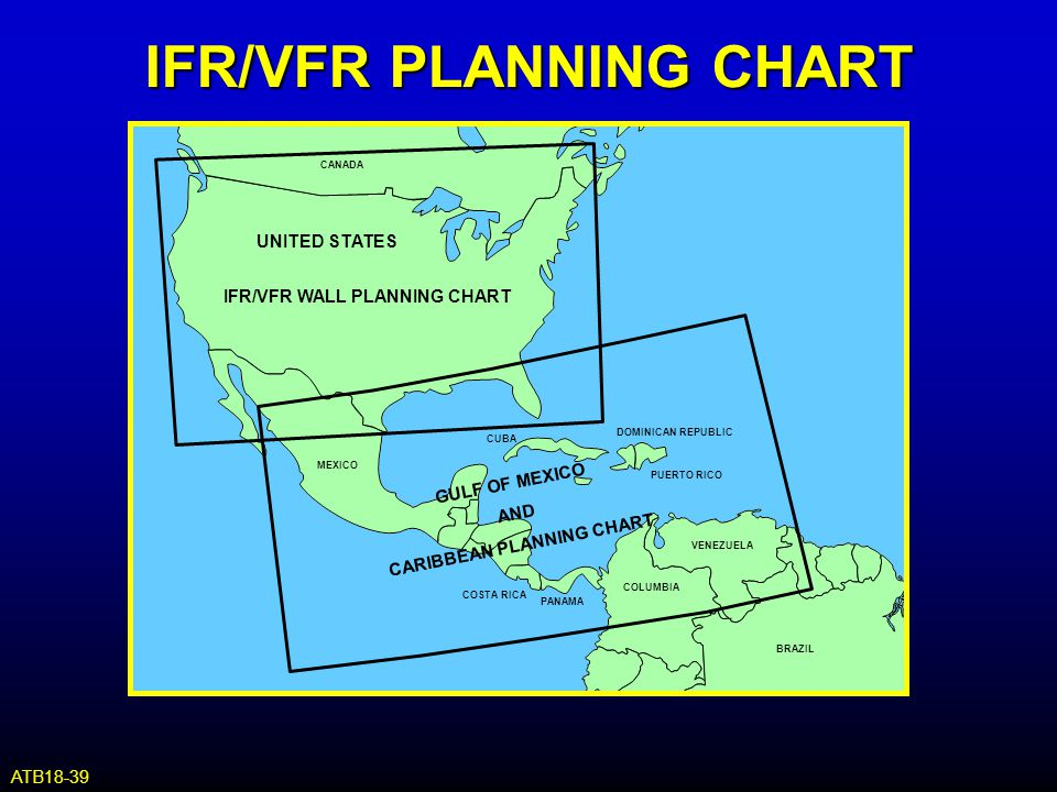 IFR/VFR PLANNING CHART