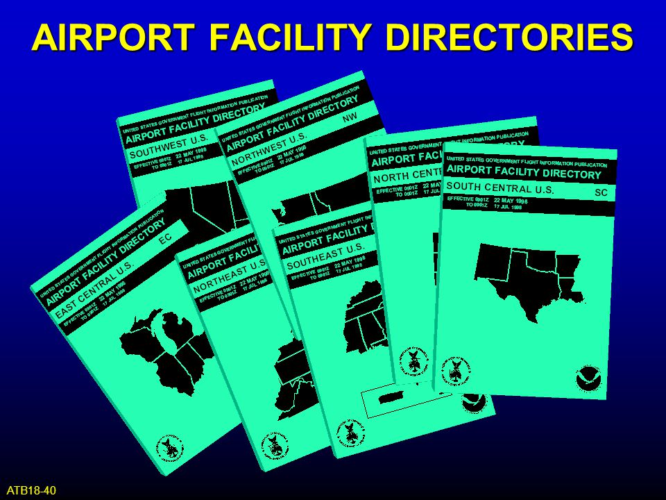 AIRPORT FACILITY DIRECTORIES