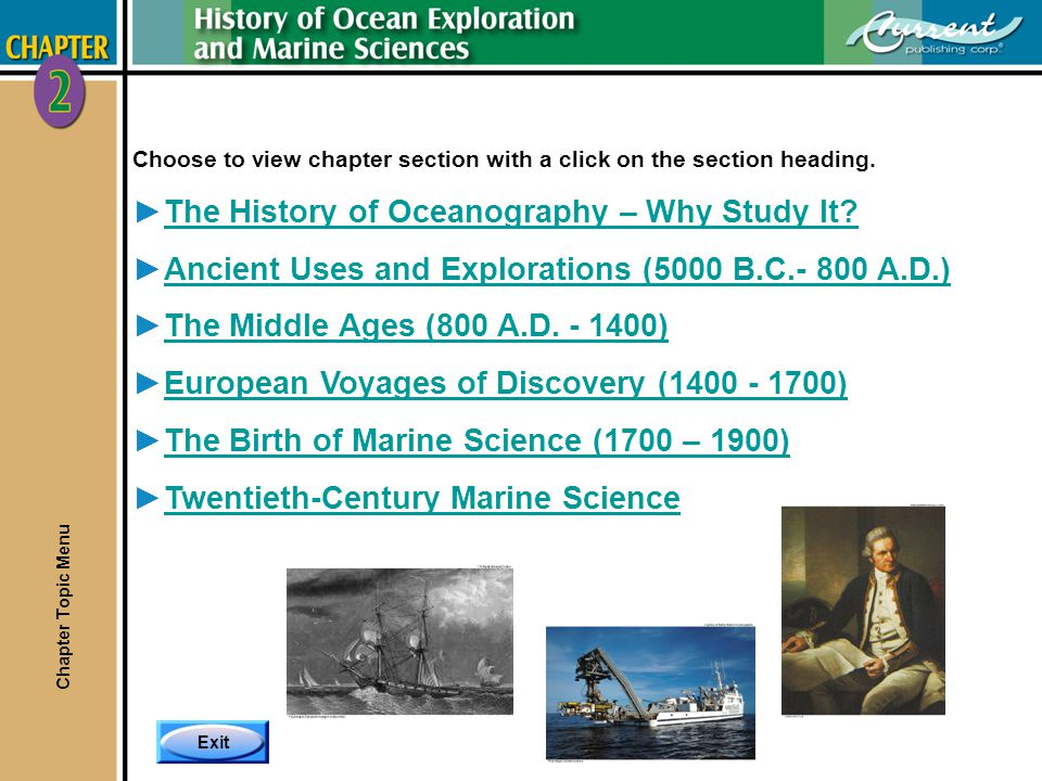 The History of Oceanography – Why Study It