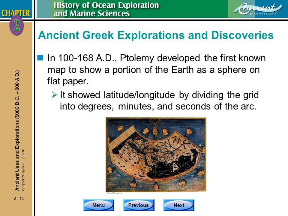 Ancient Greek Explorations and Discoveries