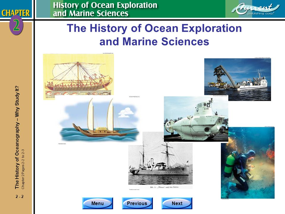 The History of Ocean Exploration and Marine Sciences