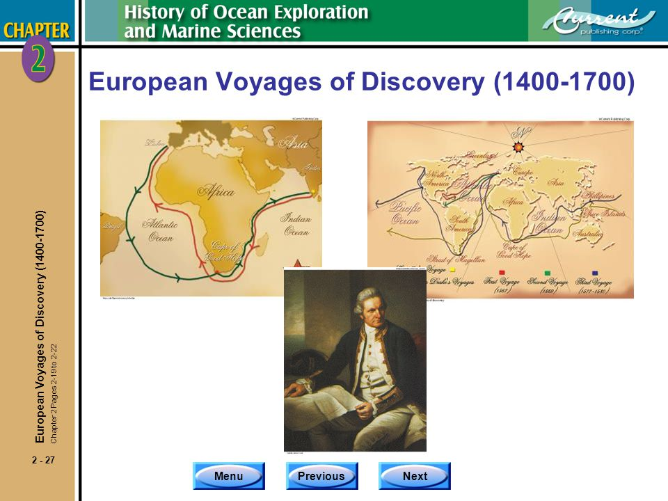 European Voyages of Discovery (1400-1700)