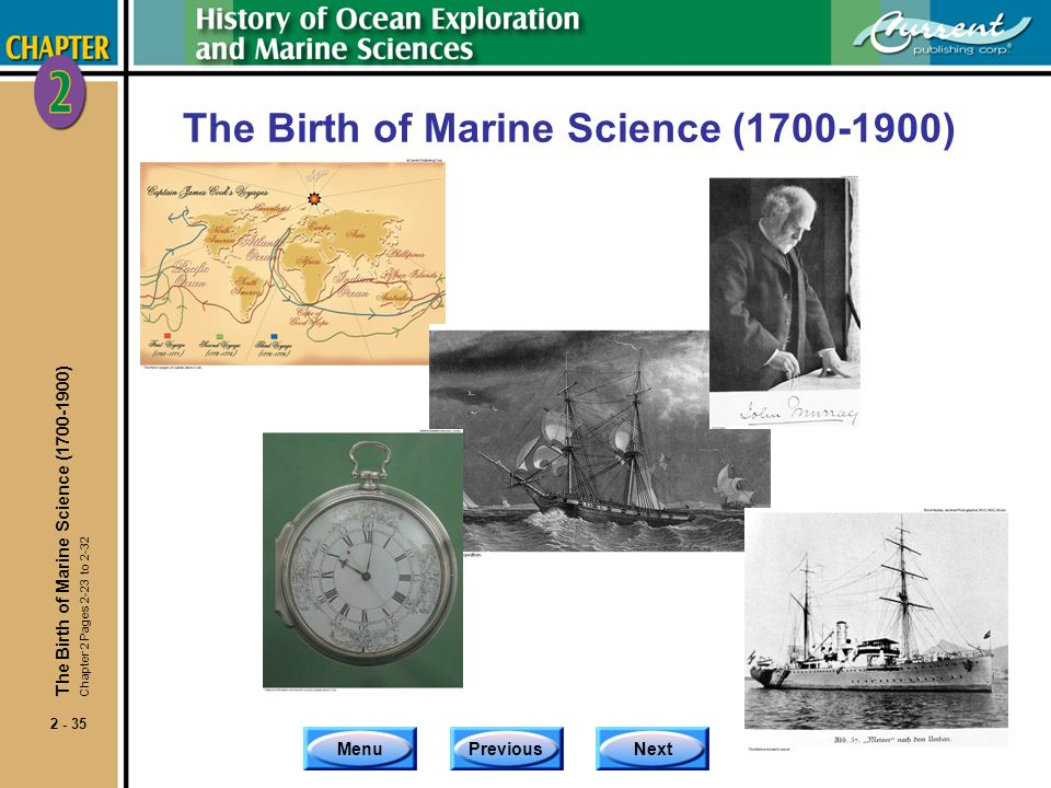 The Birth of Marine Science (1700-1900)