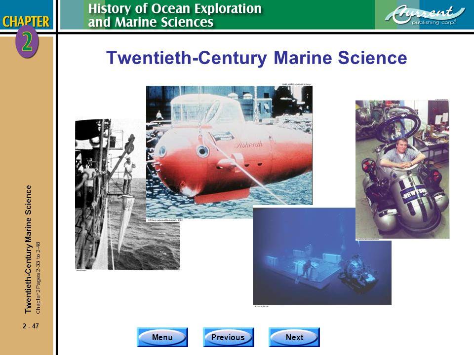 Twentieth-Century Marine Science