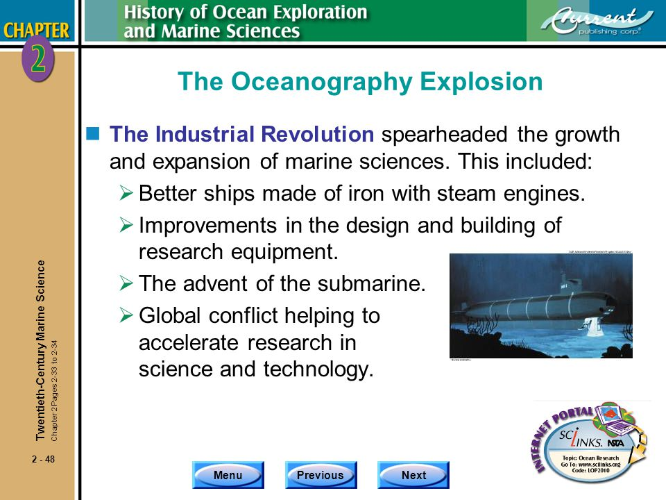 The Oceanography Explosion
