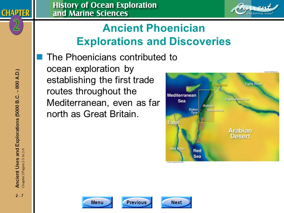 Ancient Phoenician Explorations and Discoveries
