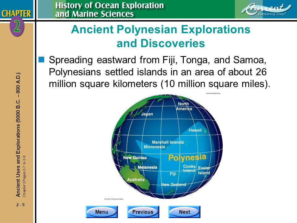 Ancient Polynesian Explorations and Discoveries