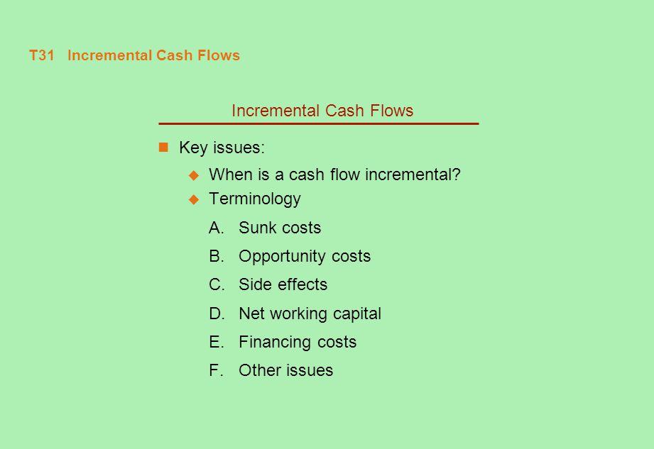 T31 Incremental Cash Flows