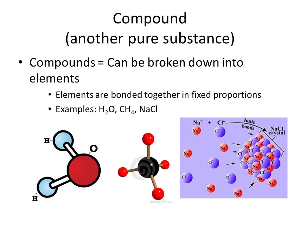 Compound (another pure substance)