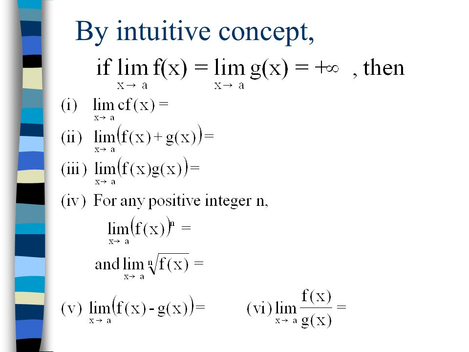 By intuitive concept,