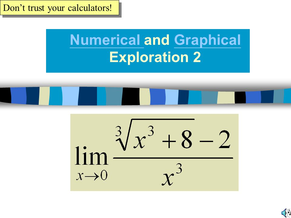 Numerical and Graphical Exploration 2