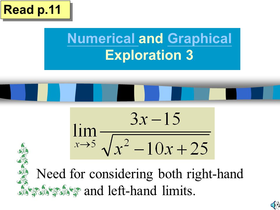 Numerical and Graphical Exploration 3