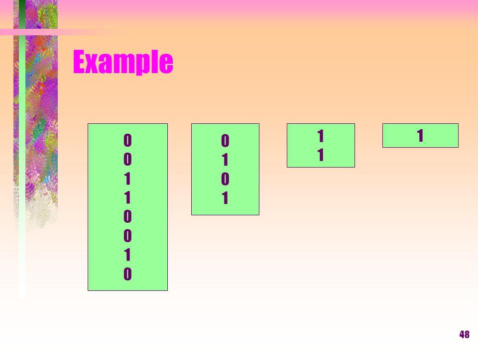 Example 1 1 1 1