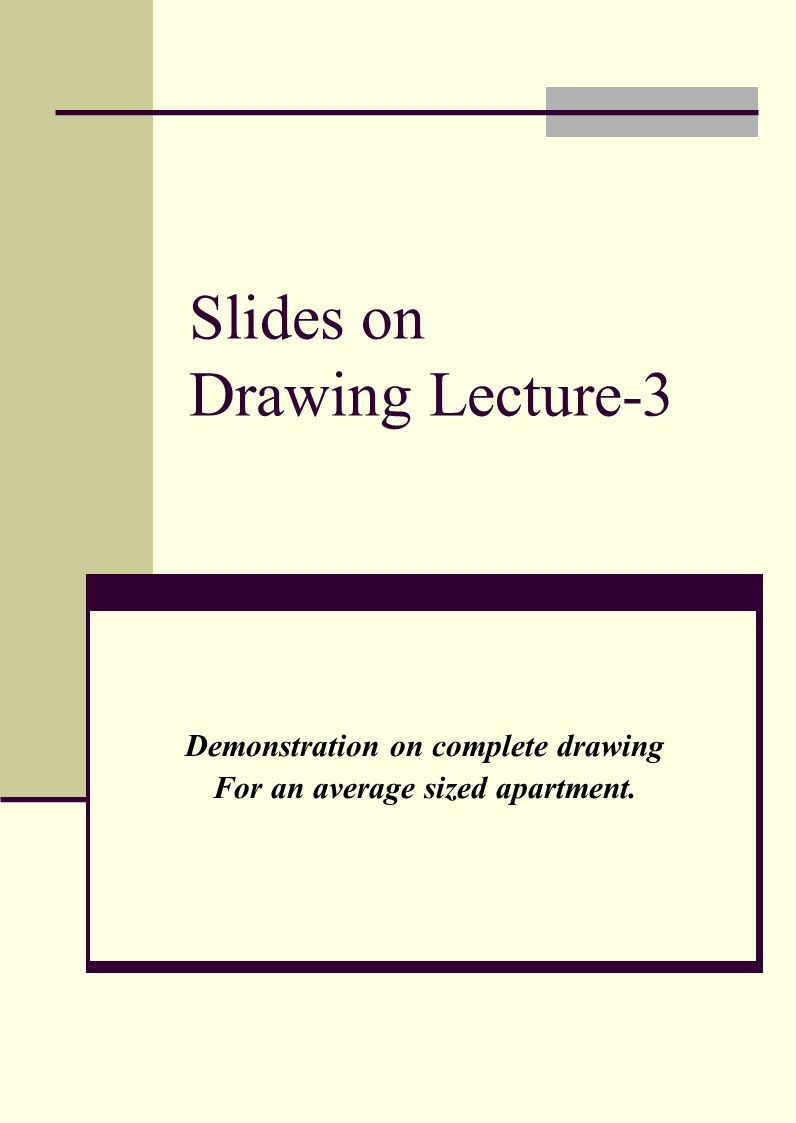 Slides on Drawing Lecture-3