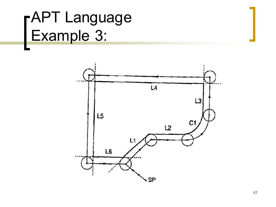 APT Language Example 3: