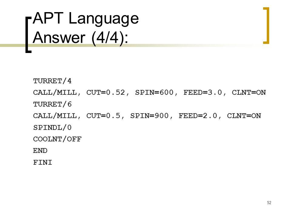 APT Language Answer (4/4):