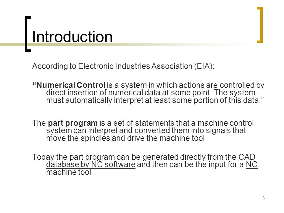 Introduction According to Electronic Industries Association (EIA):