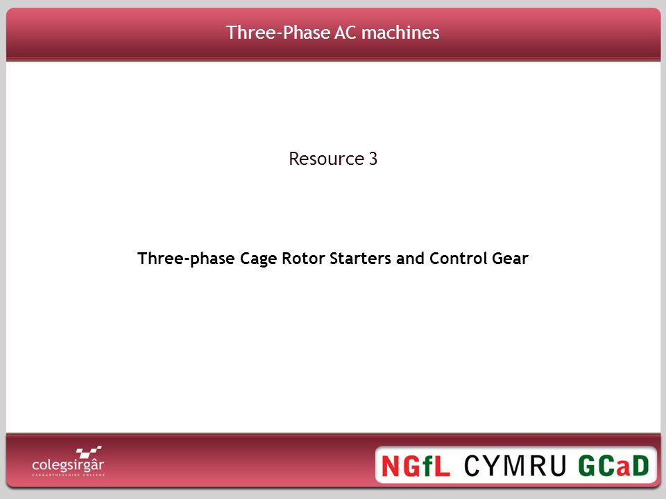 Three-Phase AC machines
