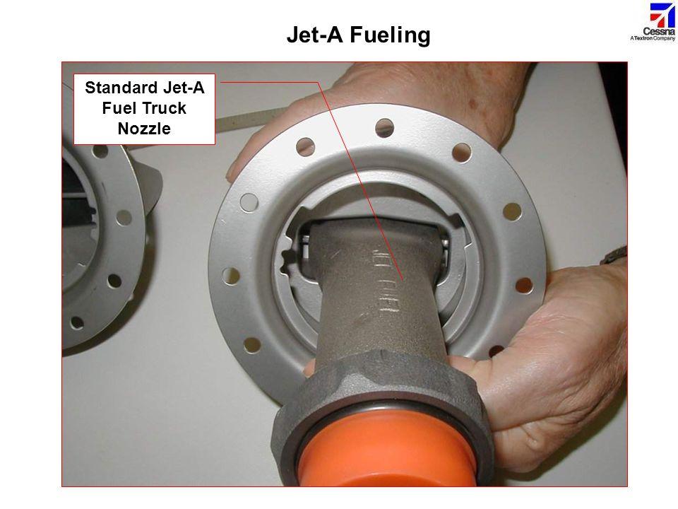 Standard Jet-A Fuel Truck Nozzle