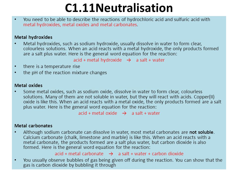 C1.11Neutralisation