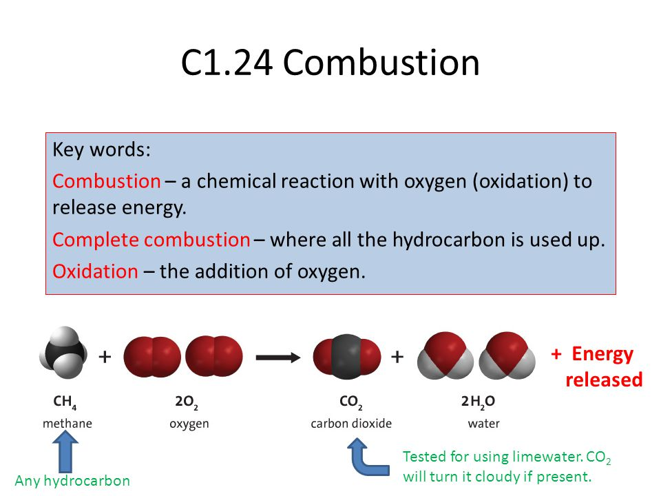 C1.24 Combustion