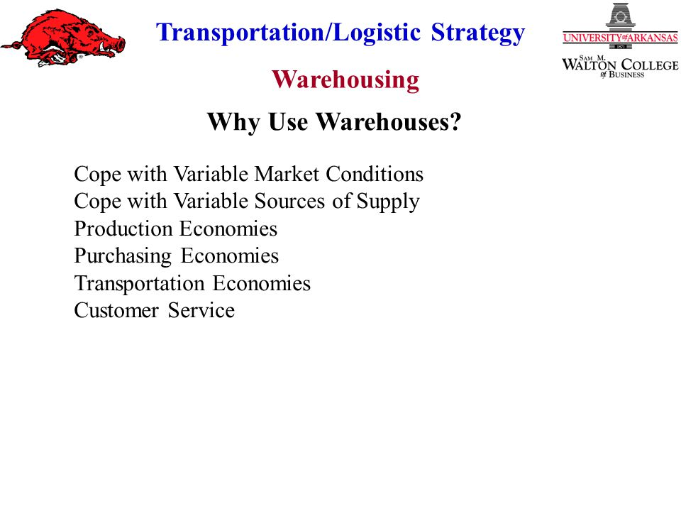 Why Use Warehouses Cope with Variable Market Conditions