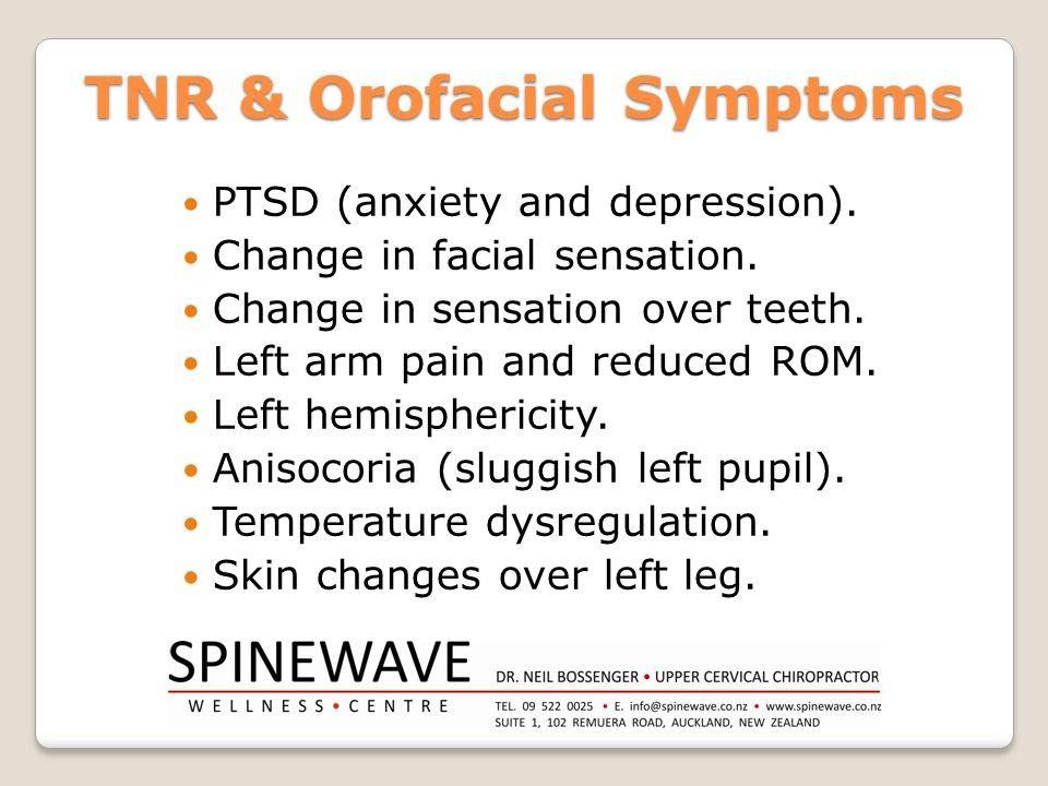 TNR & Orofacial Symptoms