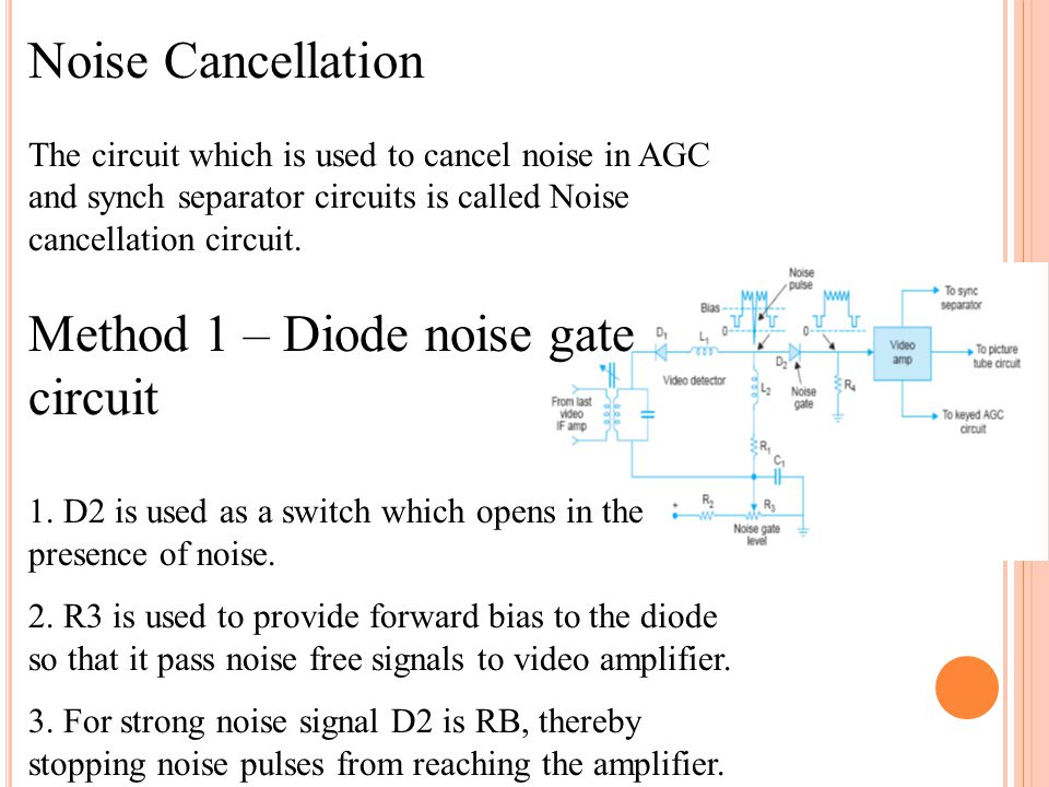 Method 1 – Diode noise gate circuit