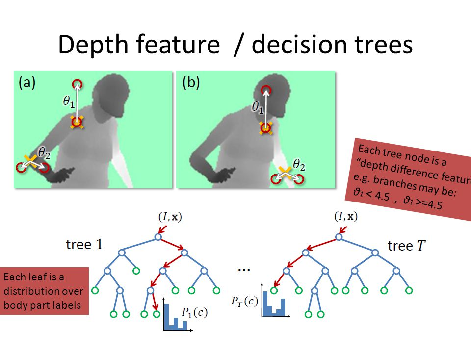 Depth feature / decision trees