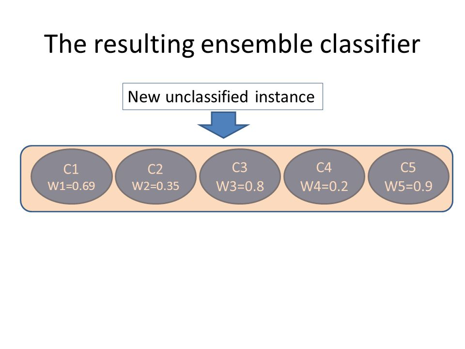 The resulting ensemble classifier