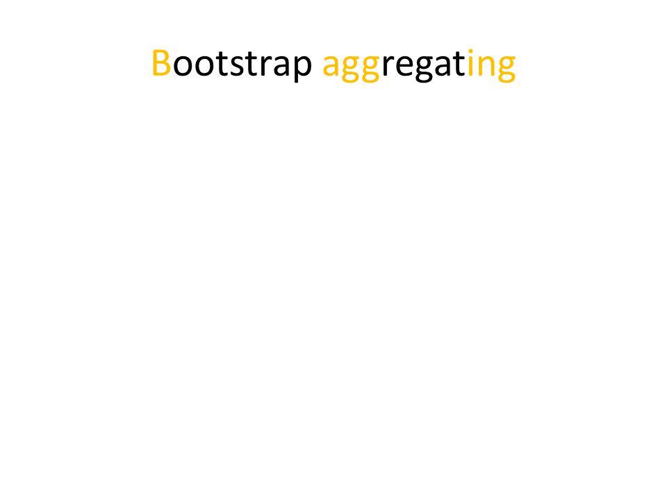 Bootstrap aggregating