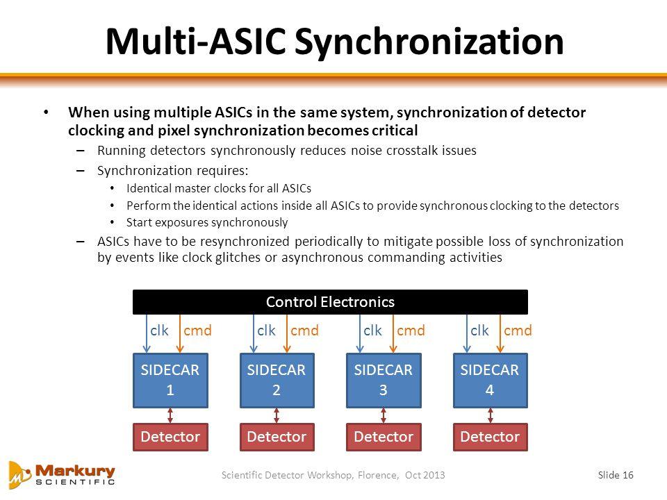 Multi-ASIC Synchronization