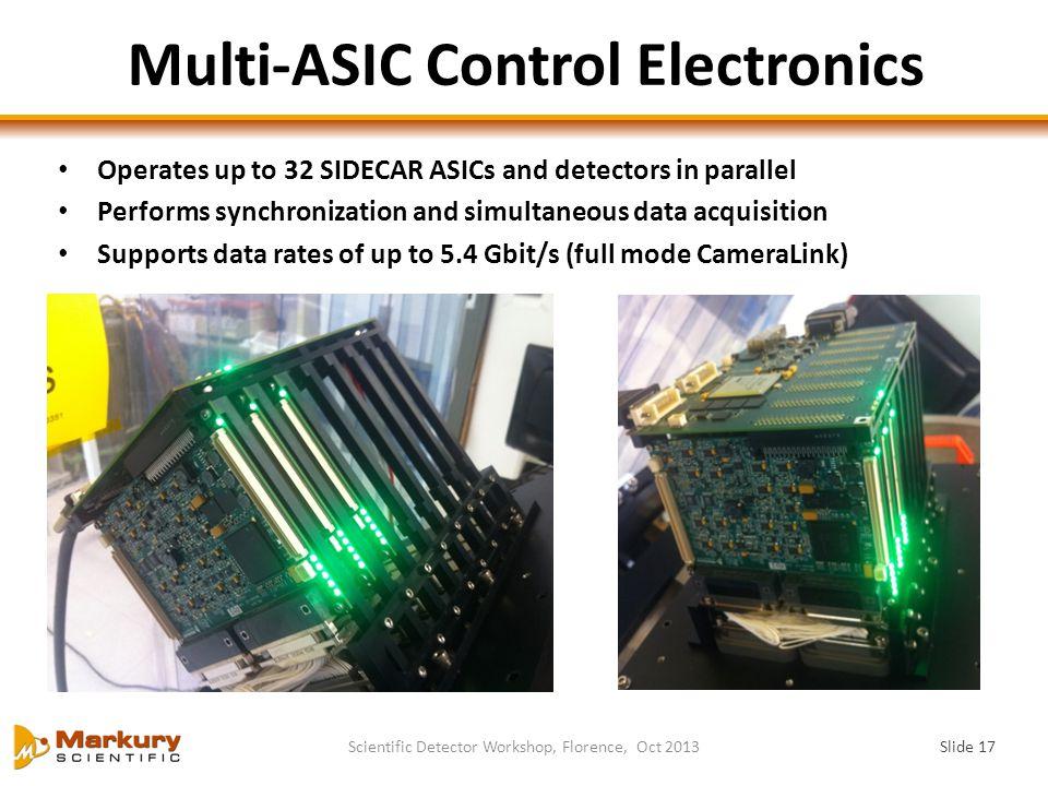 Multi-ASIC Control Electronics