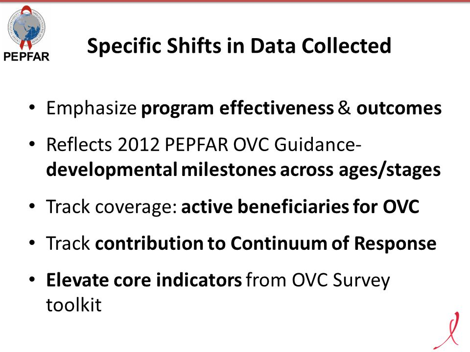 Specific Shifts in Data Collected