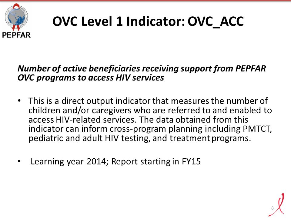 OVC Level 1 Indicator: OVC_ACC