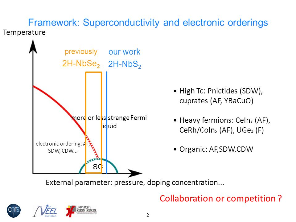 Framework: Superconductivity and electronic orderings
