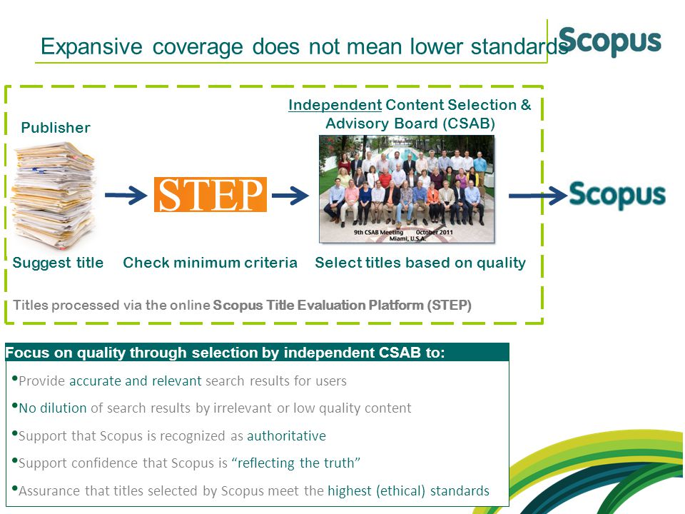 Expansive coverage does not mean lower standards
