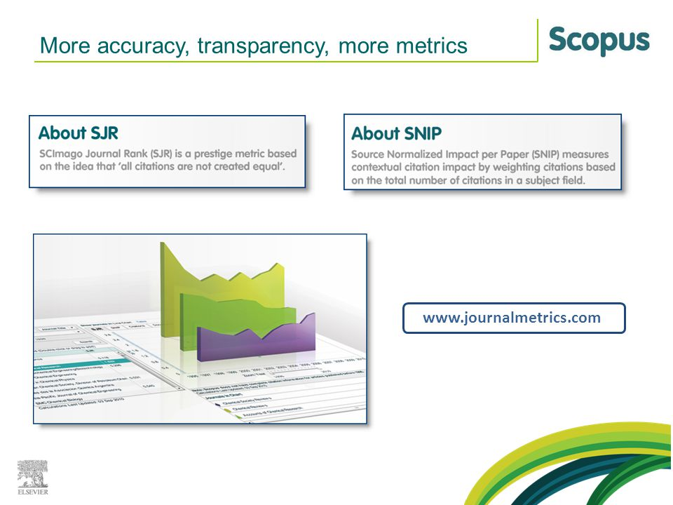 More accuracy, transparency, more metrics