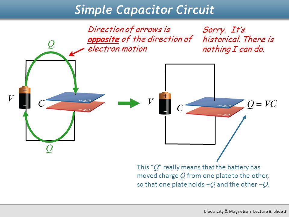 Simple Capacitor Circuit
