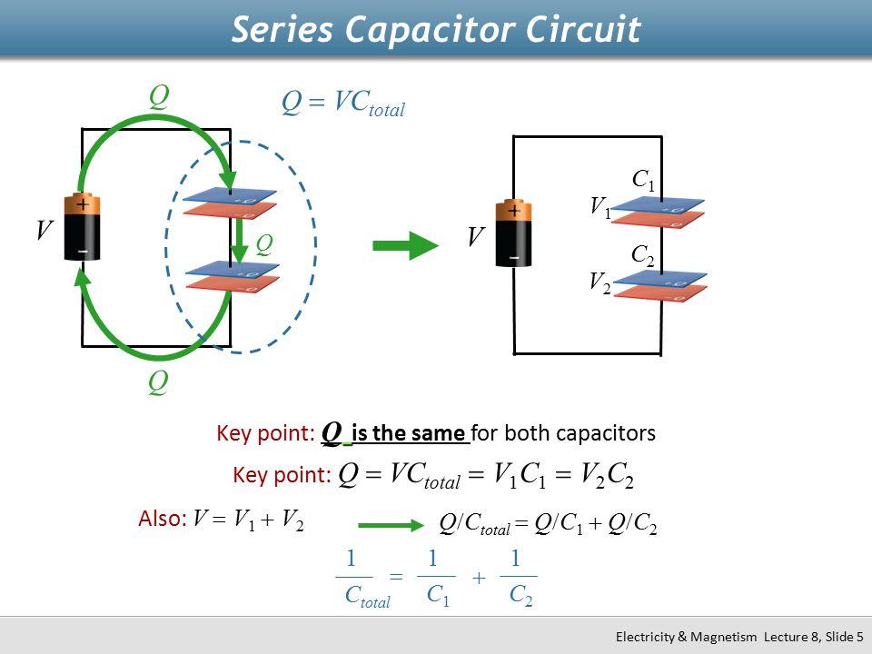 Series Capacitor Circuit