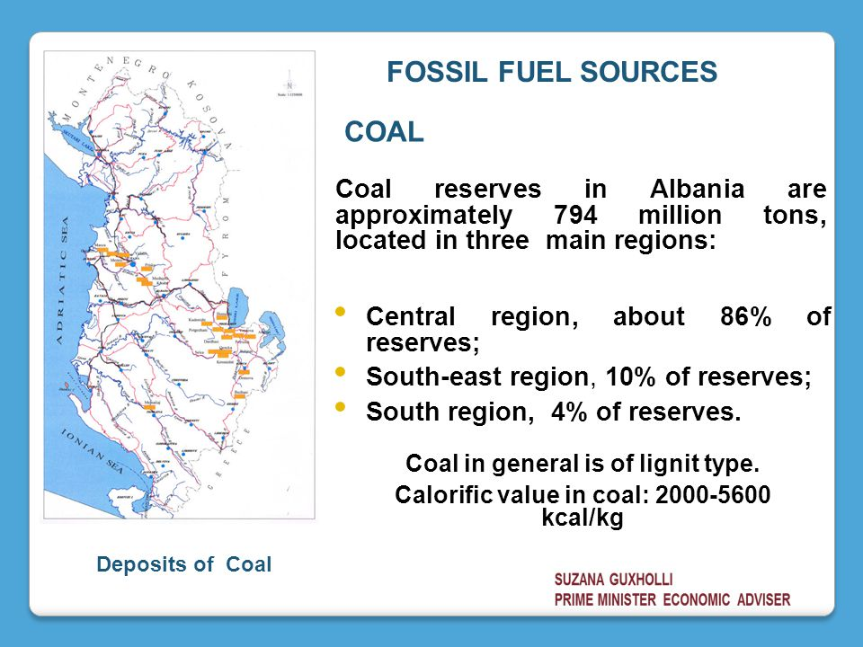 FOSSIL FUEL SOURCES COAL
