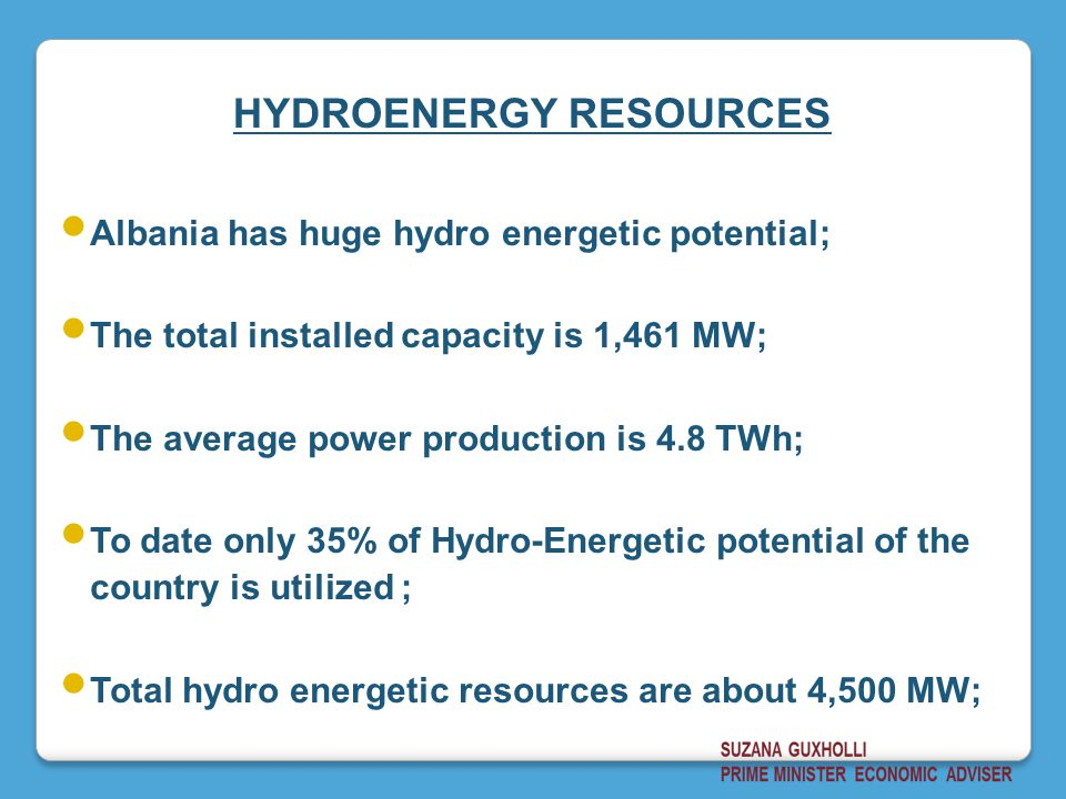 HYDROENERGY RESOURCES
