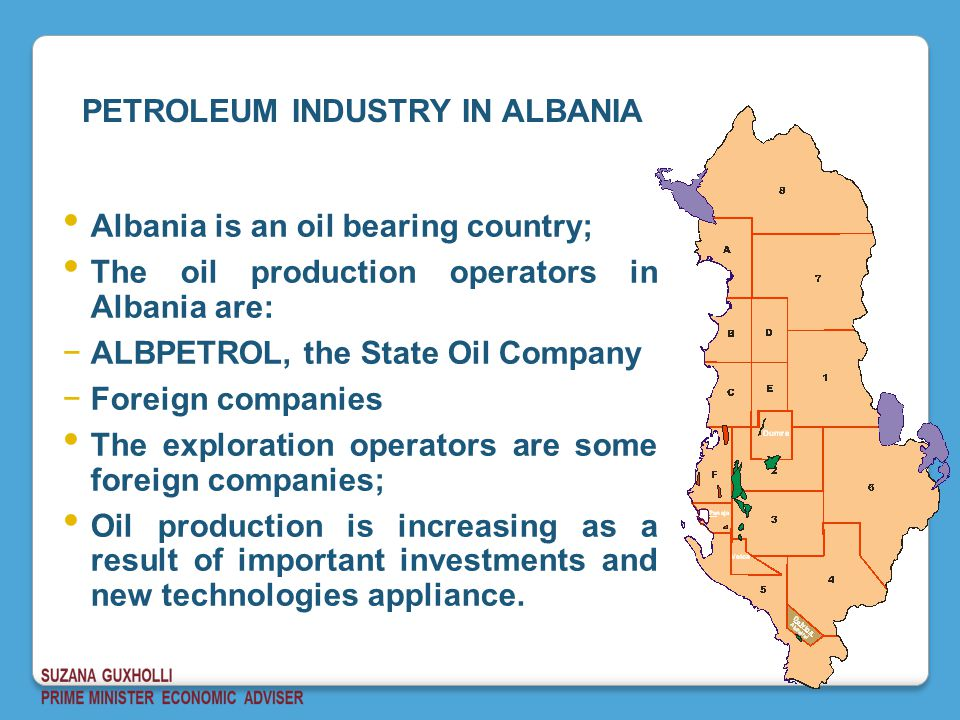 PETROLEUM INDUSTRY IN ALBANIA