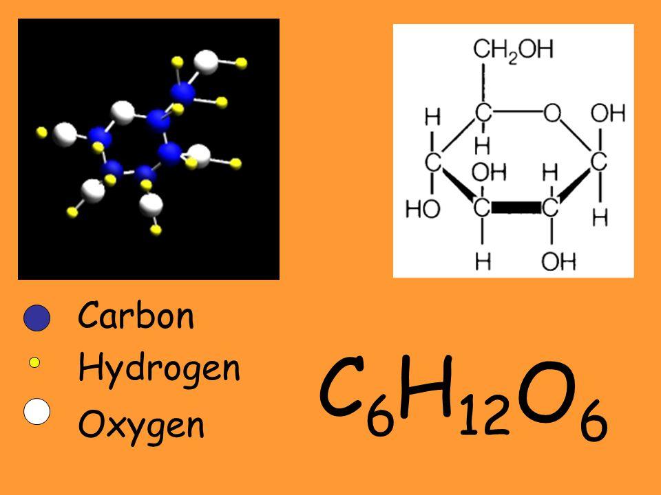 Carbon C6 H12 Hydrogen O6 Oxygen