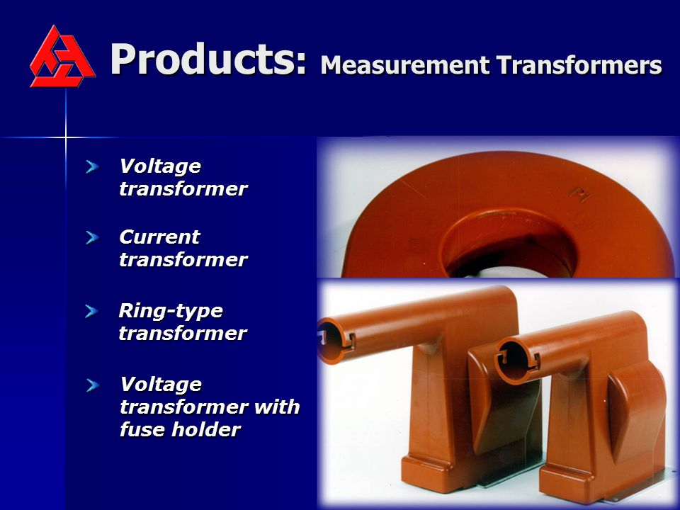 Products: Measurement Transformers