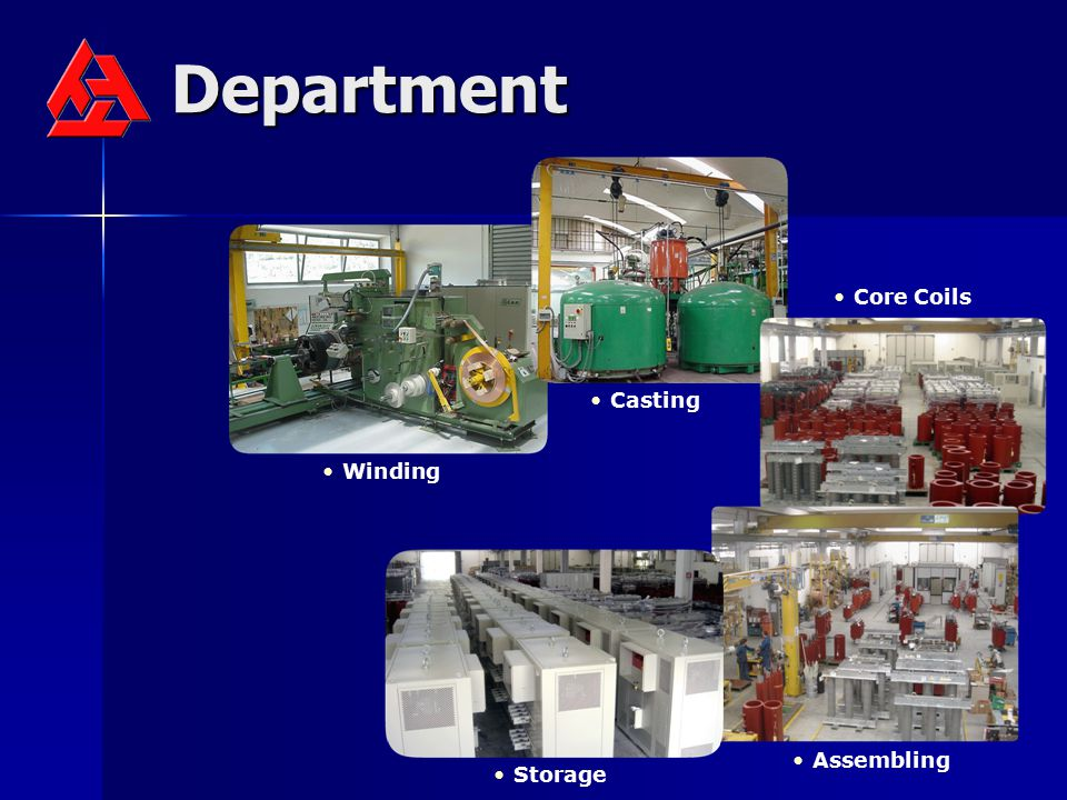 Department Casting Winding Core Coils Storage Assembling
