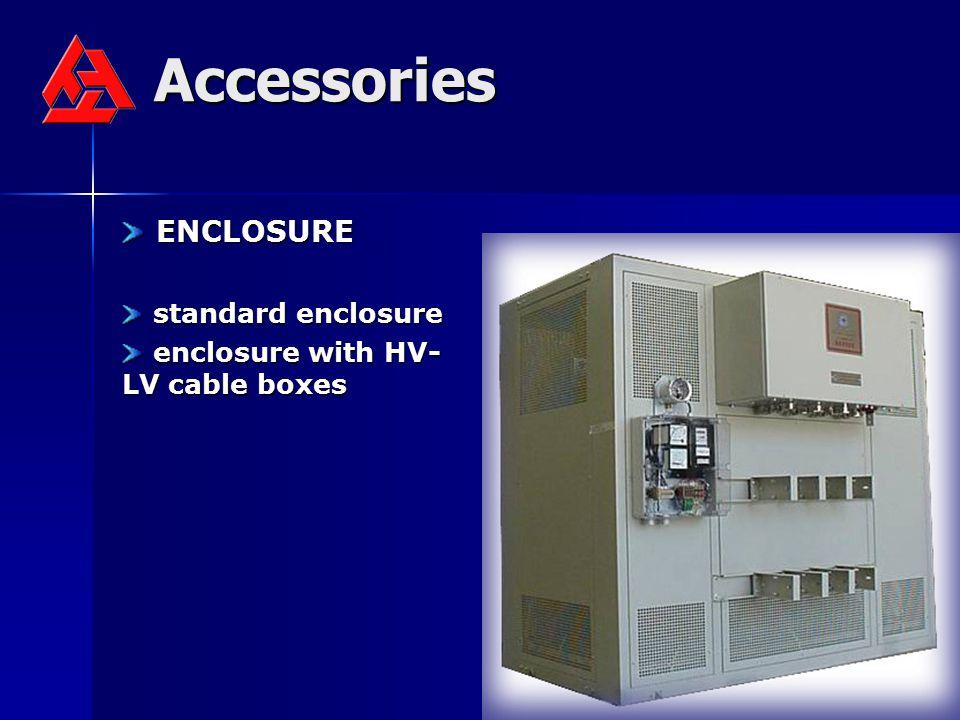 Accessories ENCLOSURE standard enclosure